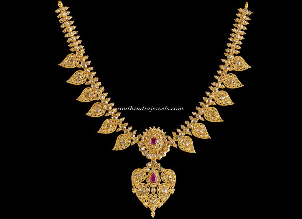 Kalyan Jewellers Diamond Jewellery necklace