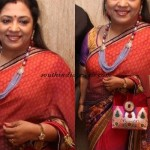 Poornima Bhagyaraj in seedbed necklace