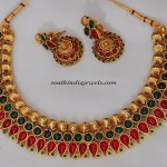 Red and green Kemp Necklace set