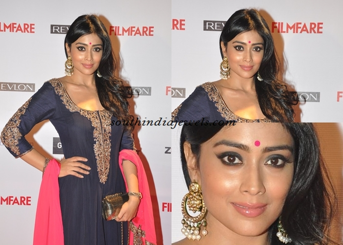 Shriya Saran in Kundan Jewellwery