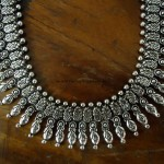 Artificial Silver Jewellery : Oxidized Necklace