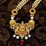 TBZ jeweller's dazzling Lakshmi pendant
