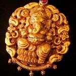 Temple Jewellery – Ganesh Pendant