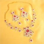 Artificial American Diamond Jewellery necklace
