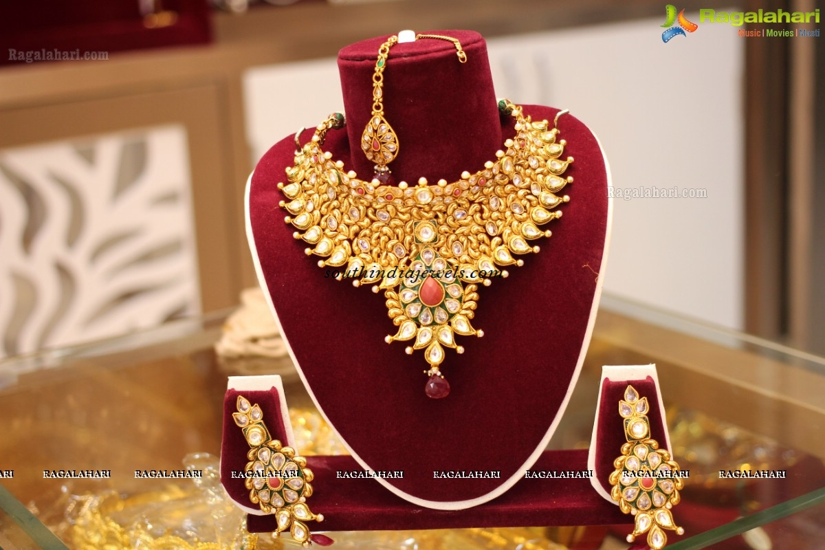 At Chaahat fashion Jewellery Launch Choker designs