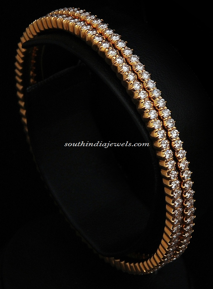 Diamond Bangle diamonds