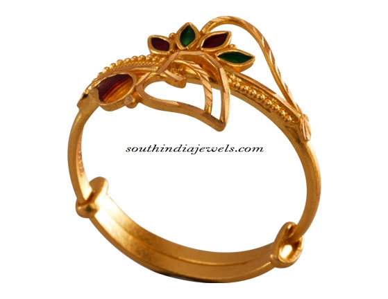 Gold rings from PC Chandra Jewellers