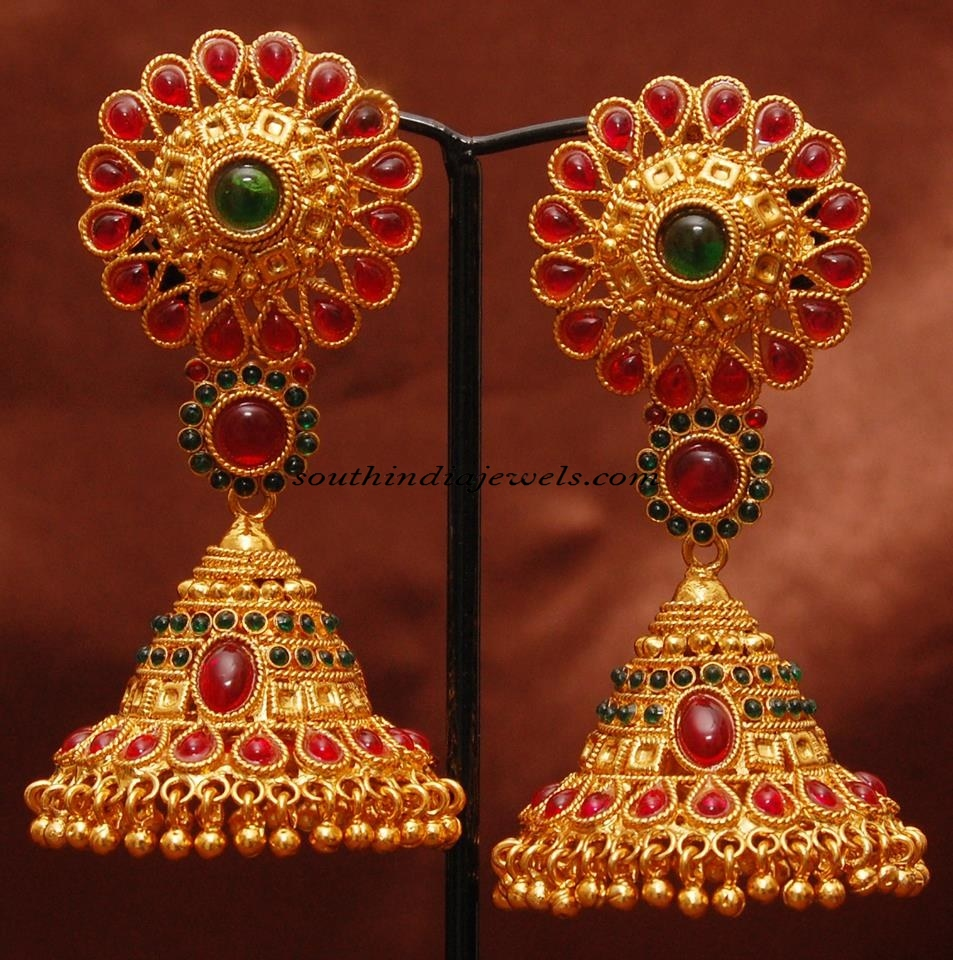 imitation jewellery kemp jhumka