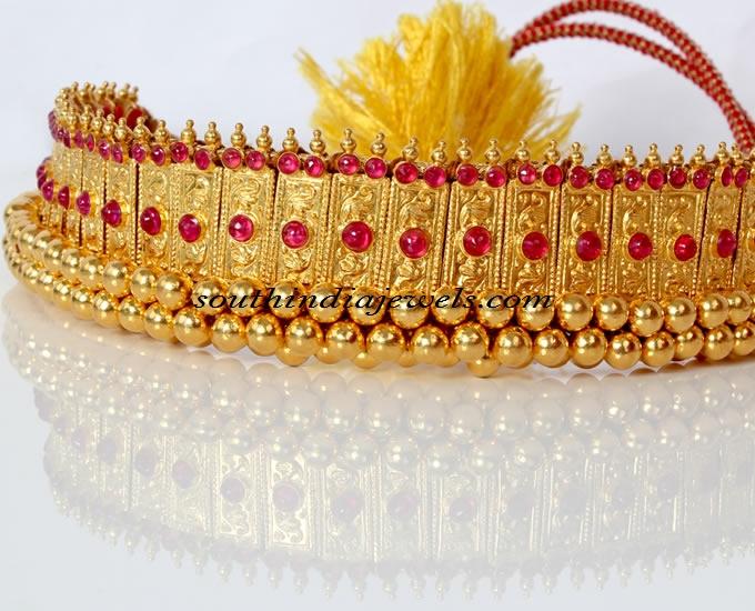 latest gold choker design