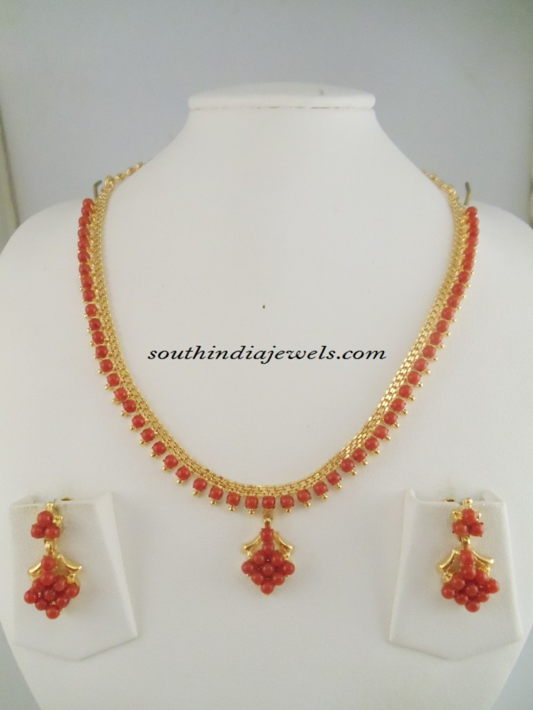 One Gram Gold Jewellery Necklace