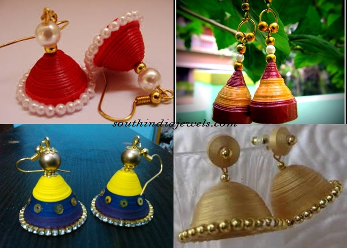 Quilling Jhumka