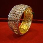 Uncut Diamond Bangle
