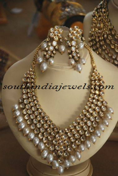 uncut diamond jewellery necklace