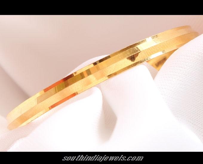 22K Gold baby boy bracelet