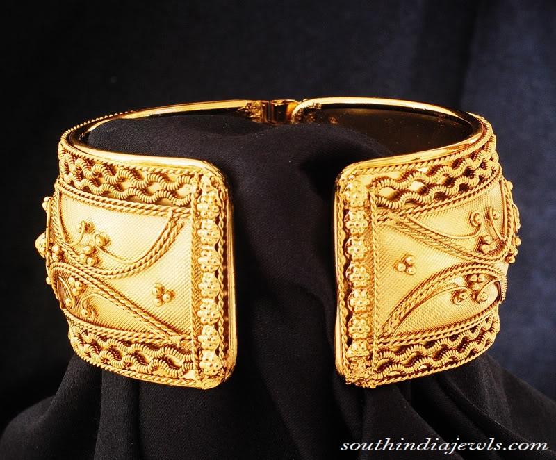22K Gold Punjabi Kada