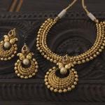 Antique Necklace set from Kushal Fashion jewellery