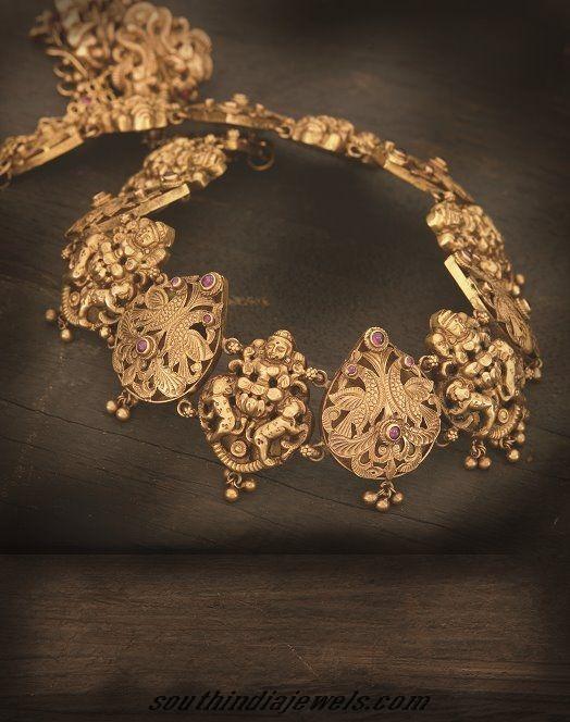 Antique Temple jewellery