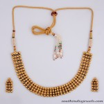 Artificial Antique Necklace set with earrings