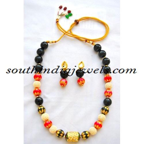 Beaded Jewellery necklace design