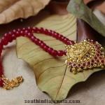 Beaded Temple Jewellery Pendant