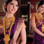 Gold bridal jewellery from Manubhai jewellers