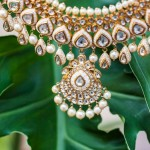 Designer gold necklace from Sunita Shekhawat jewellery collections