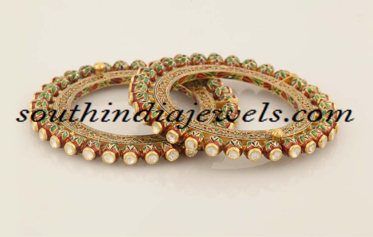 Gold Bangles from RM Jewellers