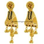 Gold Earrings from Kerala jewellers