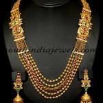 Indian Antique Jewellery : Royal Gold Haram set