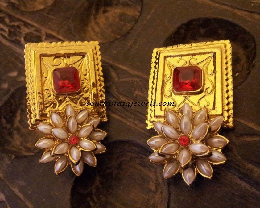 Latest Imitation earrings design