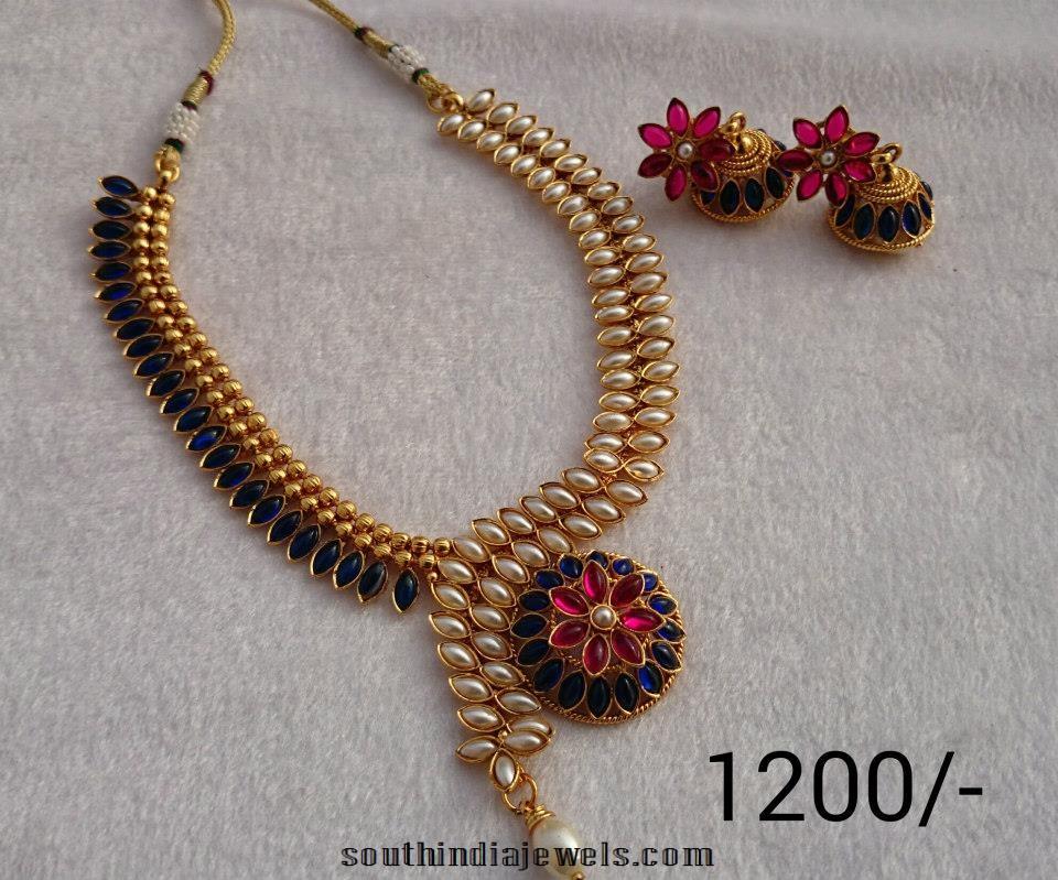 Latest Imitation Jewellery Designs