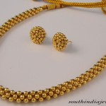 Maharashtrian Jewellery : Clustered Necklace