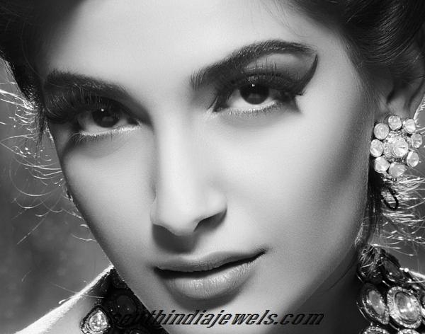 Sonam Kapoor Jewelleries for notch magazine