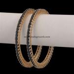 Artificial jewellery : Stone bangles
