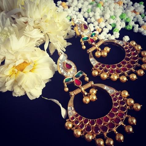 Chand balis earrings
