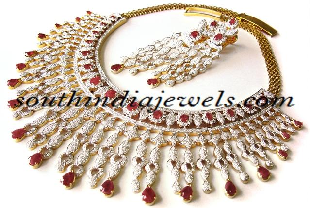Diamond Jewellery Design choker set