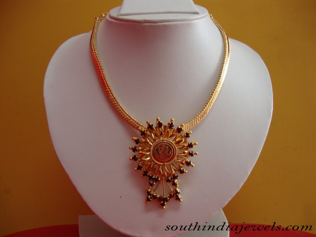 Gold Jewelry Necklace