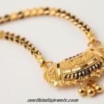 Gold Mangalsutra design