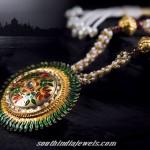 Tanishq Antique gold jewellery
