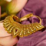 Tanishq Gold choker necklace