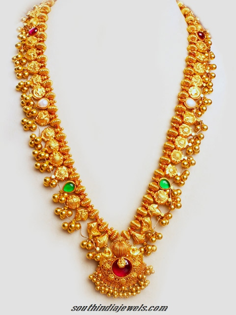 22 Carat Gold Traditional Necklace