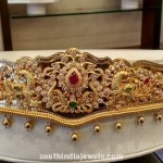 22K Gold Peacock Waist Belt (Vaddanam)