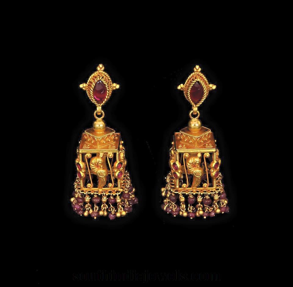 Latest Antique Jhumka Designs