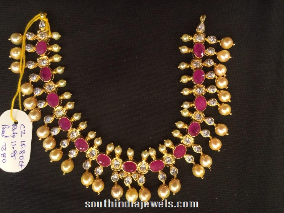 CZ Stone Necklace set
