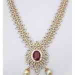 American Diamond Wedding Jewellery Set