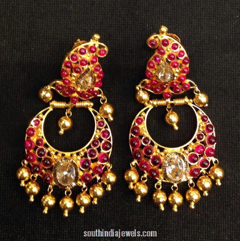 Gold Ruby Chandbalis
