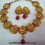 Imitation Lakshmi Motif Necklace