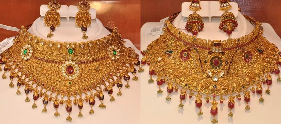 Kazana Jewellery latest choker necklace designs