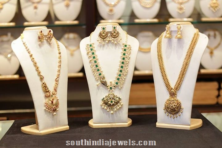 Latest long haram designs with earrings 2015