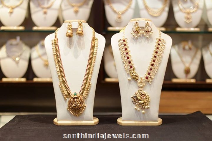 Latest long necklace designs 2015